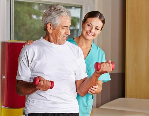 Медицина и поддержка для людей старшего возраста