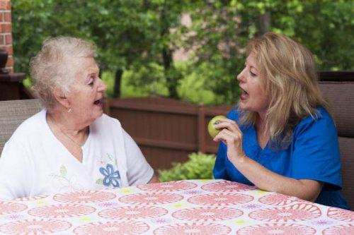 Нарушения речи у пожилых людей